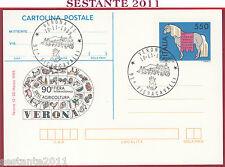 ITALIA MAXIMUM MAXI CARD POSTALE FIERA CAVALLI FIERACAVALLI VERONA 1989 C81