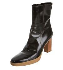 TOD'S Aspen Black Ankle Boots Shoe Size 9 1/2