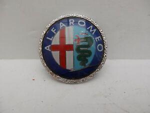 Genuine Original Alfa Romeo Badge. G.E.C.A.R. 18.145.000. Car Badge.
