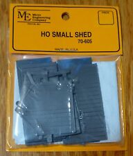 Micro Engineering Company HO #70605 Small Shed (Kit Form) Plastic Parts