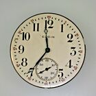 Antique 1914 Elgin National Watch Co. 7 Jewels Movement and Dial Parts Steampunk
