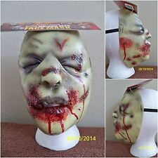 WALKING DEAD BLOAT WALKER ZOMBIE HALLOWEEN LATEX FACE MASK COSTUME MA1017