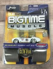 New ListingJada Dub City BigTime Muscle 1965 Shelby Cobra 427 S/C White Die-Cast 1:64 Scale