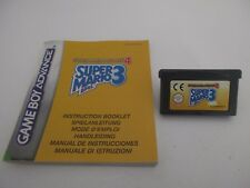 SUPER MARIO ADVANCE 4 SUPER MARIO BROS 3 - NINTENDO GAME BOY ADVANCE avec Manuel