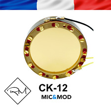 Replica Microphone Capsule CK 12 Premium for C12 C414 , DIY, AKG Upgrades
