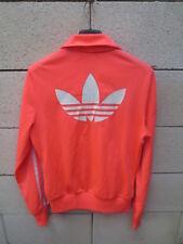 Veste ADIDAS rétro vintage rose flashy TREFOIL sport détente tracktop jacket 38