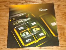Original 2001 Honda Odyssey Deluxe Sales Brochure 01
