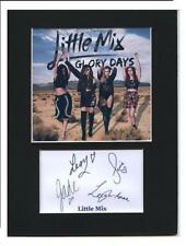 Little mix signed printed autograph photo print mounted gift display #A