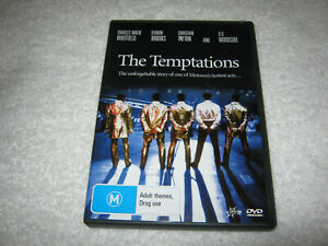 The Temptations - Charles Malik Whitfield - VGC - DVD - VERY RARE REGION 4