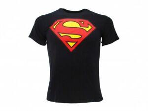 T-shirt Superman Blu Scuro Ufficiale Supereroe DC Comics