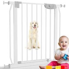 Türschutzgitter Treppenschutzgitter Kinderschutzgitter Baby Absperrgitter NEU