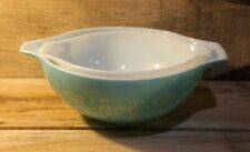Lot Of 2 Vintage Pyrex Butterprint Pattern Cinderella Nesting Mixing Bowls Set