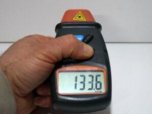 Compte Tour Laser sans contact Tachymètre 100 000 RPM