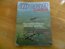 AIRCRAFT ILLUSTRATED AUG '77 WHISPERING GIANT 617 UPDATE HAWK DEBUT BRISTOL BEAU