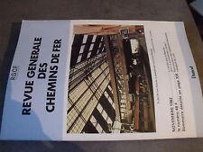 $$l RGCF Chemin de Fer N°11/82 chassis de bogies à poste fixe  tunnel Manche
