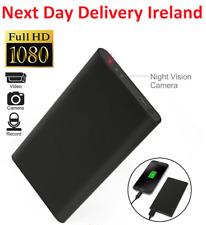 1080p Wireless Power Bank Spy Hidden Camera Home Office DVR Long Battery
