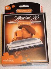 Hohner Progressive Harmonica Special 20 Key of C Major 560PBX-C Brand New