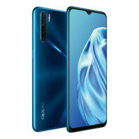 New OPPO A91 (Dual SIM 4G, 48MP, 128GB/8GB) - Black, Blue Unlocked  [Aus Stock]