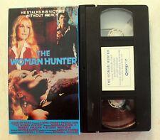 VHS: The Woman Hunter rare TV Movie Thriller 1972 King Of Video KOV Barbara Eden