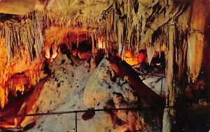 Onyx Chamber in Mammoth Cave National Park Kentucky Vintage Postcard K07