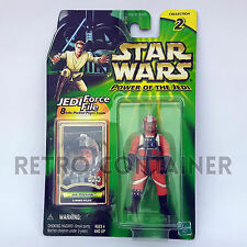 STAR WARS Kenner Hasbro Action Figure - POTJ - Jet Porkins (X-Wing Pilot)