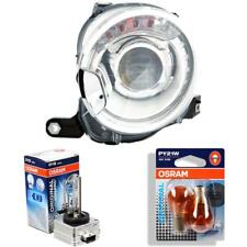 Xenon Headlight Left Fiat 500 Built 07- >> D1S/PY24W Headlight