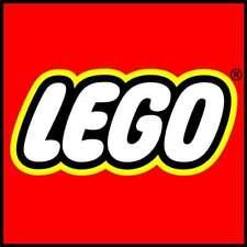 Voorgesneden Grote LEGO Sticker 15cm x 15cm