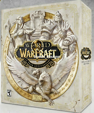 NO STATUE World of Warcraft 15th Anniversary Collectors Edition Blizzard Pin Art