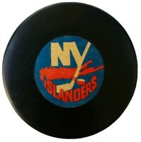 NEW YORK ISLANDERS VINTAGE VICEROY MADE in 🇨🇦 NHL APPROVED OFFICIAL GAME PUCK