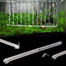 Aquarium Fish Tank Air Stone Bubble Bar Tube Pump Wall Curtain Diffuser Filters