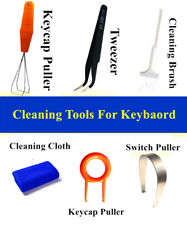 New listing Puller Brush 6 in 1 Cleaning Tools Dustproof Kit for Keycap Keyboard Switch