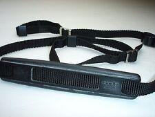 Genuine standard MINOLTA black CAMERA NECK STRAP    #001817