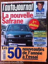 L'AUTO-JOURNAL du 6/1996; Jean Alesi/ Dossier 50 nouveauté à l'essai/ Safrane
