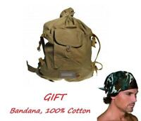 USSR Original Soviet Russian army backpack soldier duffel bag weshchmeshok+GIFT!