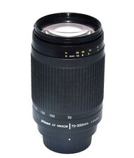 Nikon AF Zoom Nikkor 70-300mm f/4-5.6G Lens +  For DSLR Cameras