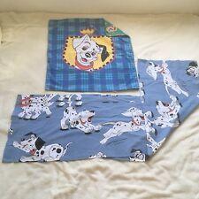Taie D'oreiller Et De Traversin Disney Cti Les 101 Dalmatiens 100% Coton