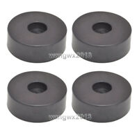 4pcs Speaker Shock Spike Foot Pad Isolation Floor Base Stand Rubber Pad Φ45x15mm