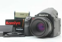 【MINT】 Mamiya 645DF Digital sekor D 80mm F2.8 W/ DM28 back Battery set Japan 732