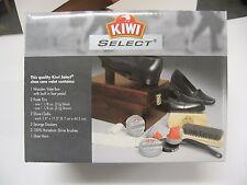 Kiwi Shine Box - Shoe Valet- Shoe Shine Kit - Wooden Shoe Shine Box - NEW