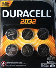 Duracell 2032 3 Volt (Coin) Batteries Pack of 6 - March 2027