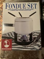 Brand New Unused Roscho Fondue Set