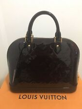 Louis Vuitton Alma PM Vernis Amarante M91611 in Excellent Condition (2017 Model)