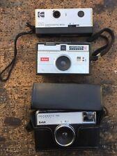 Lotto Kodak Instamatic 200 50 133 tris macchine fotografiche 3 cameras kamera