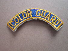 Color Guard Military Woven Cloth Patch Badge (L1K)