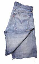 LEVI'S Mens 504 Denim Shorts W31 Blue Cotton  DS05