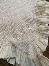 Antonella Kids Silk & Cotton Baby Blanket Beautiful Ivory Blanket