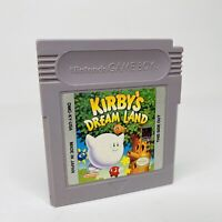 Kirby's Dream Land (Nintendo Game Boy, 1992) Authentic Cleaned Tested Works