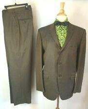 1960's Vintage 60's Iridescent Sharkskin Suit Jacket 3 Button Blazer Thin Lapel