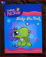 LITTLEST PET SHOP STICKER & COLOURING BOOK - Cutest Fun Colour In Color  - NEW