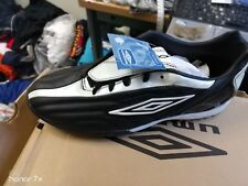 UMBRO  OWEN  BLACK  football astro in size 2345uk at £10 ASTRO K LEATHER faux